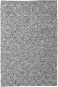 Rut - Sötétszürke Melange Szőnyeg 200X300 Modern Kézi Szövésű Világosszürke/Sötétszürke (Gyapjú, India)