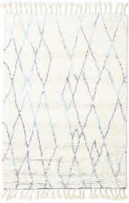 Rana - Natural/Kék Szőnyeg 160X230 Modern Csomózású Bézs/Bézs/Krém (Gyapjú, India)