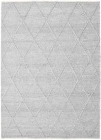 Svea - Ezüstszürke Szőnyeg 160X230 Modern Kézi Szövésű Világosszürke/Bézs/Krém (Gyapjú, India)