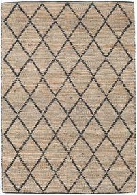 Kültéri Szőnyeg Serena Jute - Natural/Fekete Szőnyeg 160X230 Modern Kézi Szövésű Világosszürke/Világosbarna ( India)