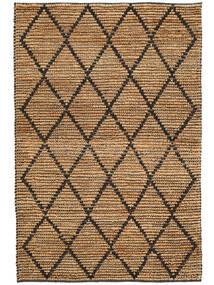 Kültéri Szőnyeg Serena Jute - Natural/Fekete Szőnyeg 120X180 Modern Kézi Szövésű Világosszürke/Bézs ( India)