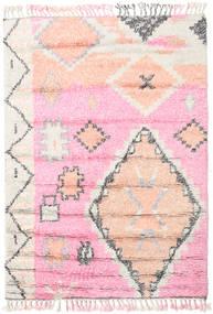 Odda - Rózsaszín Szőnyeg 160X230 Modern Csomózású Világos Rózsaszín/Bézs/Krém (Gyapjú, India)