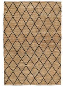 Kültéri Szőnyeg Serena Jute - Natural/Fekete Szőnyeg 200X300 Modern Kézi Szövésű Világosszürke/Bézs ( India)