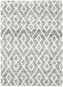 Hudson - Melange Fekete Szőnyeg 170X240 Modern Világosszürke/Bézs (Gyapjú, India)