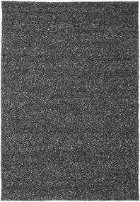 Bubbles - Melange Fekete Szőnyeg 200X300 Modern Sötétszürke (Gyapjú, India)