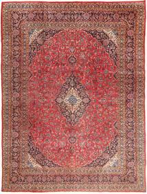 Mashad Szőnyeg 295X390 Keleti Csomózású Sötétpiros/Világosbarna Nagy (Gyapjú, Perzsia/Irán)
