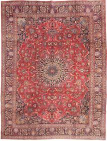 Mashad Szőnyeg 285X375 Keleti Csomózású Sötétpiros/Világos Rózsaszín Nagy (Gyapjú, Perzsia/Irán)