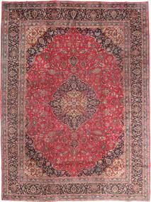 Mashad Szőnyeg 295X395 Keleti Csomózású Sötétpiros/Barna Nagy (Gyapjú, Perzsia/Irán)