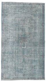 Colored Vintage Szőnyeg 152X268 Modern Csomózású Világosszürke/Kék (Gyapjú, Törökország)