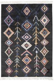 Rauma - Fekete Szőnyeg 160X230 Modern Fekete/Sötétszürke ( Törökország)