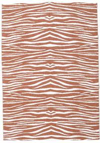 Kültéri Szőnyeg Zebra - Rozsdaszín Szőnyeg 200X280 Modern Sötétpiros/Világosszürke ( Svédország)