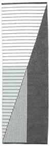 Kültéri Szőnyeg Diagonal - Fekete/Zöld Szőnyeg 70X210 Modern Bézs/Krém/Bíbor ( Svédország)