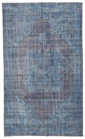 Colored Vintage Szőnyeg 185X308 Modern Csomózású Világoskék/Kék/Sötétszürke (Gyapjú, Törökország)
