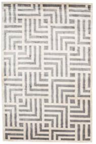 Maze Szőnyeg 200X300 Modern Csomózású Világosszürke/Bézs/Krém ( India)