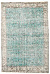 Taspinar Szőnyeg 207X300 Keleti Csomózású Világosszürke/Türkiz Kék (Gyapjú, Törökország)