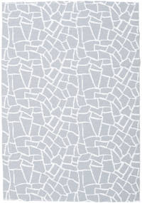 Kültéri Szőnyeg Terrazzo - Szürke/White Szőnyeg 150X210 Modern Világoskék/Bézs ( Svédország)