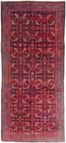 Hamadán Szőnyeg 137X320 Keleti Csomózású Sötétpiros/Piros (Gyapjú, Perzsia/Irán)