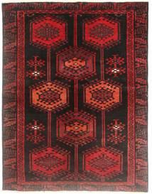 Loribaft Perzsa Szőnyeg 130X170 Modern Csomózású Sötétpiros/Sötétbarna (Gyapjú, Perzsia/Irán)