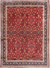 Mashad Szőnyeg 285X390 Keleti Csomózású Sötétpiros/Sötétbarna Nagy (Gyapjú, Perzsia/Irán)