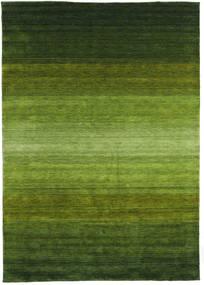 Gabbeh Rainbow - Zöld Szőnyeg 300X400 Modern Sötétzöld/Olívazöld Nagy (Gyapjú, India)