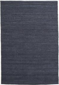 Alva - Kék/Fekete Szőnyeg 160X230 Modern Kézi Szövésű Sötétkék/Bíbor (Gyapjú, India)