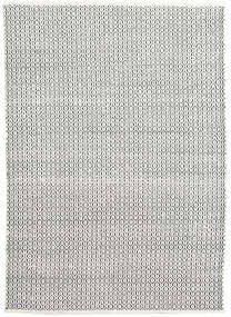 Alva - White/Fekete Szőnyeg 160X230 Modern Kézi Szövésű Világosszürke/Sötétszürke (Gyapjú, India)