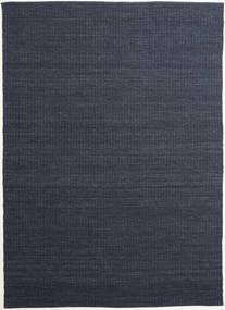Alva - Kék/Fekete Szőnyeg 250X350 Modern Kézi Szövésű Sötétkék/Bíbor Nagy (Gyapjú, India)