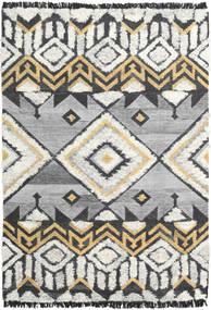 Deco Szőnyeg 160X230 Modern Kézi Szövésű Világosszürke/Sötét Bézs (Gyapjú, India)