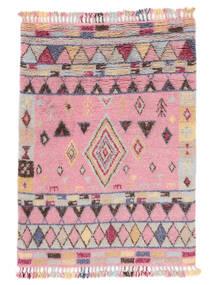 Fanny Szőnyeg 160X230 Modern Csomózású Világos Rózsaszín/Világosszürke (Gyapjú, India)