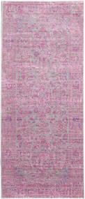Maharani - Szürke/Rózsaszín Szőnyeg 80X200 Modern Világos Rózsaszín/Rózsaszín ( Törökország)