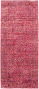 Maharani - Piros Szőnyeg 78X196 Modern Rozsdaszín/Rózsaszín ( Törökország)