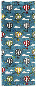 Balloons Szőnyeg 80X200 Modern Sötétkék/Sötét Turquoise ( Törökország)