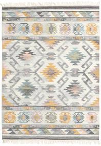 Mirza Szőnyeg 160X230 Modern Kézi Szövésű Világosszürke/Bézs (Gyapjú, India)