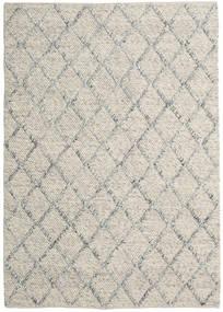 Rut - Ezüst/Szürke Melange Szőnyeg 160X230 Modern Kézi Szövésű Világosszürke/Sötét Bézs (Gyapjú, India)