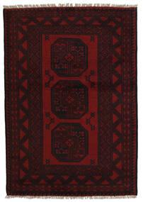 Afgán Szőnyeg 94X141 Keleti Csomózású Sötétpiros (Gyapjú, Afganisztán)
