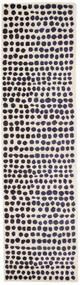 Square Szőnyeg 80X300 Modern Fekete/Bézs ( Törökország)