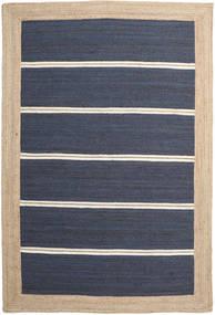 Kültéri Szőnyeg Frida Stripe - Kék Szőnyeg 200X300 Modern Kézi Szövésű Kék/Bézs/Sötétkék ( India)