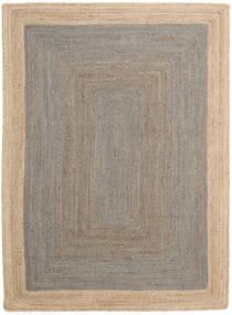 Kültéri Szőnyeg Frida Frame - Szürke/Natural Szőnyeg 160X230 Modern Kézi Szövésű Világosszürke/Bézs ( India)