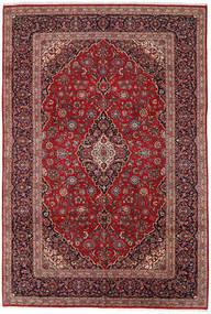 Kashan Szőnyeg 260X380 Keleti Csomózású Sötétpiros/Sötétbarna Nagy (Gyapjú, Perzsia/Irán)