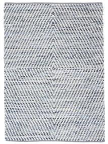 Hilda - Denim/White Szőnyeg 140X200 Modern Kézi Szövésű Bézs/Világoskék (Pamut, India)