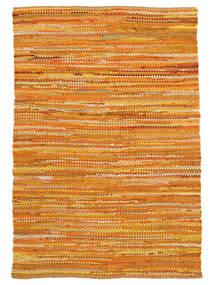 Ronja - Sárga Mix Szőnyeg 170X240 Modern Kézi Szövésű Sötét Bézs/Narancssárga (Pamut, India)