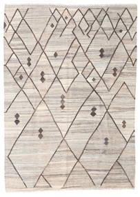Kilim Ariana Szőnyeg 176X244 Modern Kézi Szövésű Világosszürke/Bézs (Gyapjú, Afganisztán)