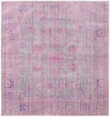 Maharani - Szürke/Rózsaszín Szőnyeg 196X196 Modern Szögletes Világos Rózsaszín/Világosszürke ( Törökország)