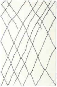 Shaggy Tangier - White/Sötétszürke Szőnyeg 200X300 Modern Bézs/Világosszürke ( Törökország)