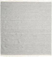 Melange - Szürke Szőnyeg 300X300 Modern Kézi Szövésű Szögletes Világosszürke Nagy (Gyapjú, India)