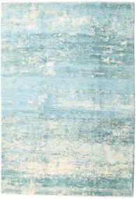 Damask Collection Szőnyeg 193X282 Modern Csomózású Türkiz Kék/Világoskék ( India)