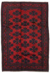 Balouch Szőnyeg 182X260 Keleti Csomózású Fekete/Piros (Gyapjú, Afganisztán)