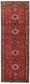 Hamadán Patina Szőnyeg 108X318 Keleti Csomózású Sötétpiros/Piros (Gyapjú, Perzsia/Irán)
