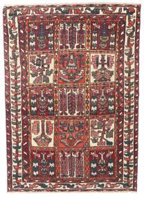 Bakhtiar Patina Szőnyeg 110X152 Keleti Csomózású Sötétpiros/Sötétbarna (Gyapjú, Perzsia/Irán)