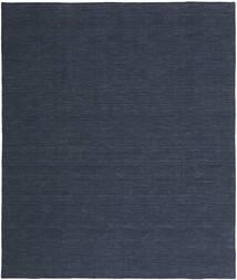 Kilim Loom - Denim Kék Szőnyeg 200X250 Modern Kézi Szövésű Sötétkék/Kék (Gyapjú, India)